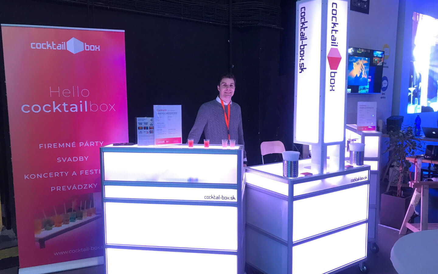 Cocktail-box - Event Expo 2018 referencia